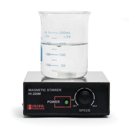 HI200M Stainless Steel Cover Magnetic Mini-Stirrer