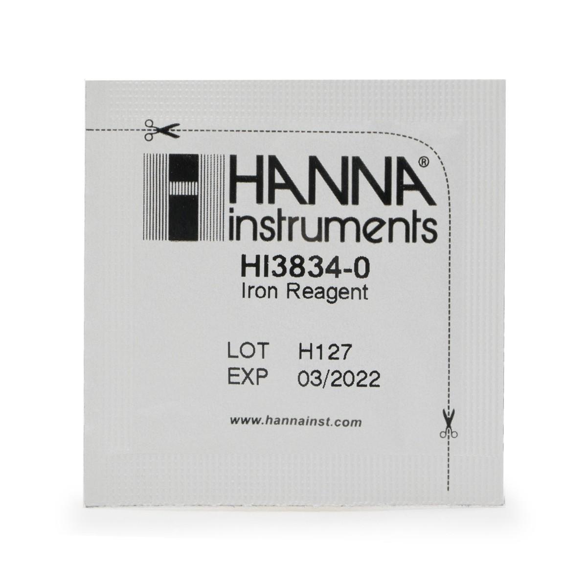 Reactivi de rezervă Test Fier (Domeniu Mic) (100 teste) - HI38039-100