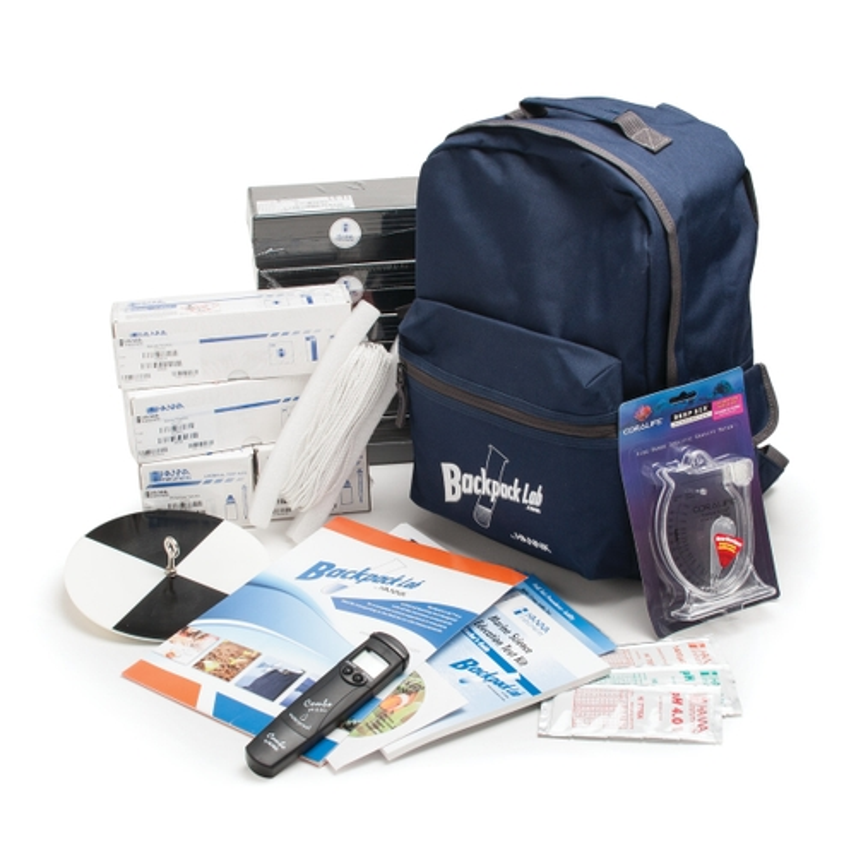 HI3899BP Backpack Lab Marine Science Educational Test Kit