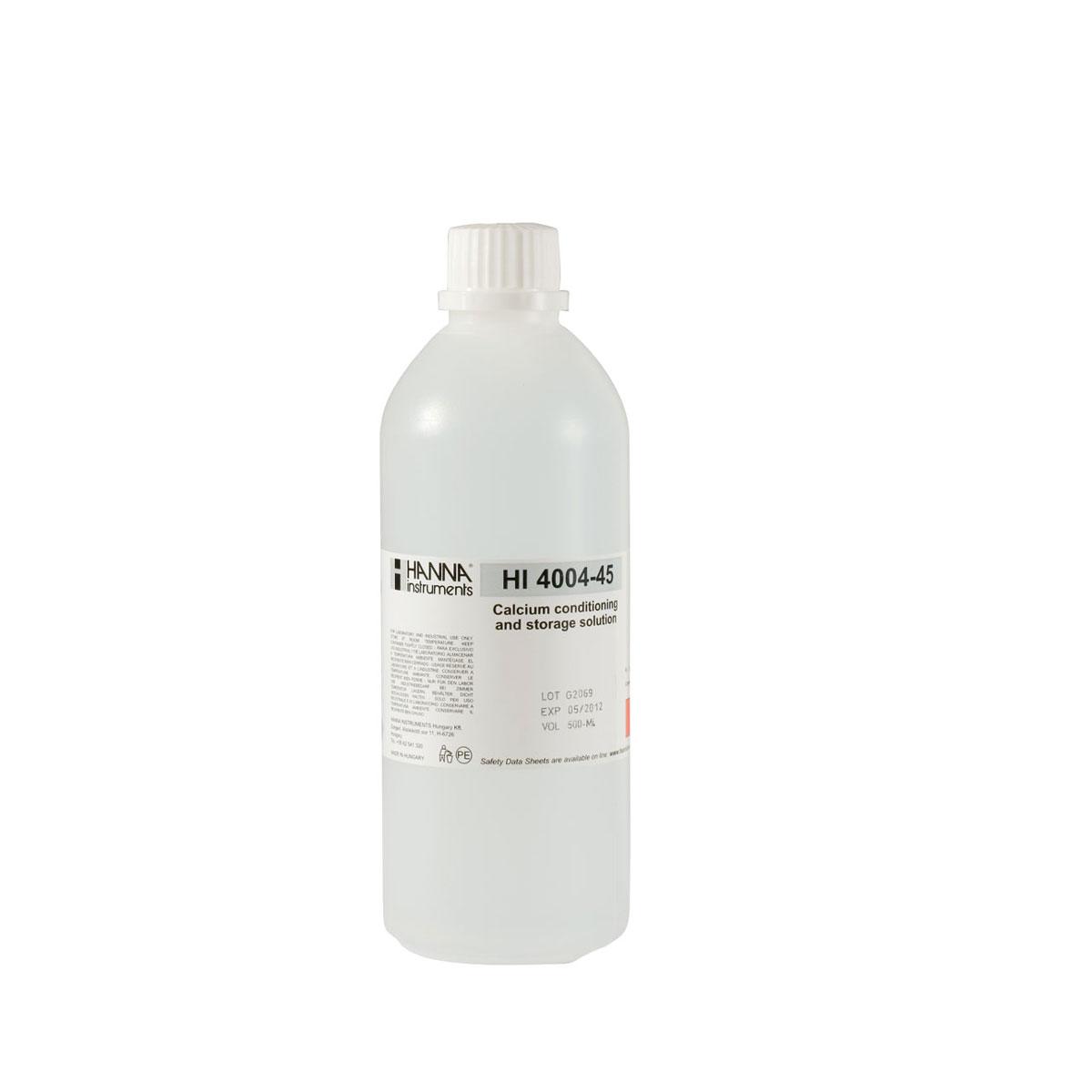 HI4004-45 Calcium ISE Conditioning and Storage Solution (500 mL)