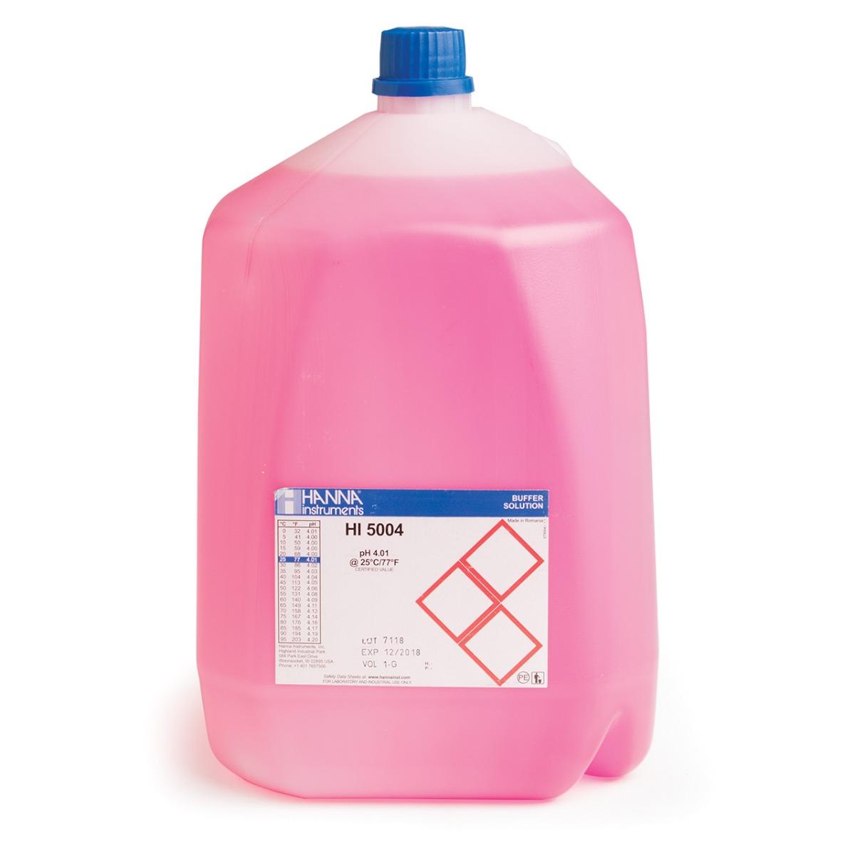 HI5004-R08 pH 4.01 Technical Calibration Buffer (1G (3.78L))