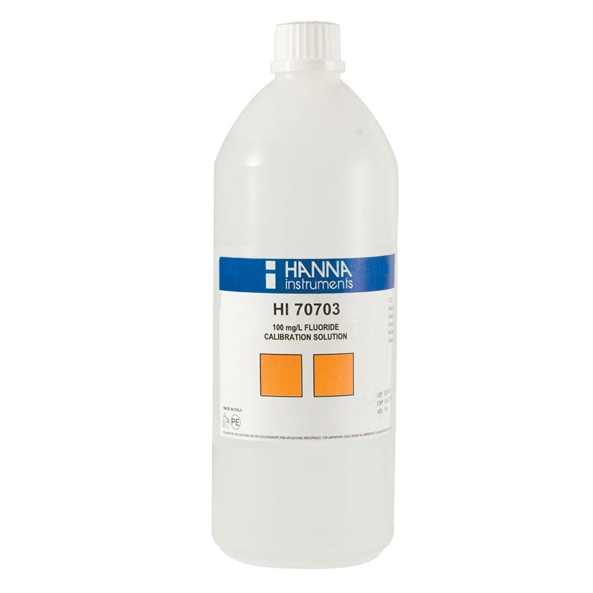 Soluție standard  Fluoruri 100 mg/L (500 mL) - HI70703L