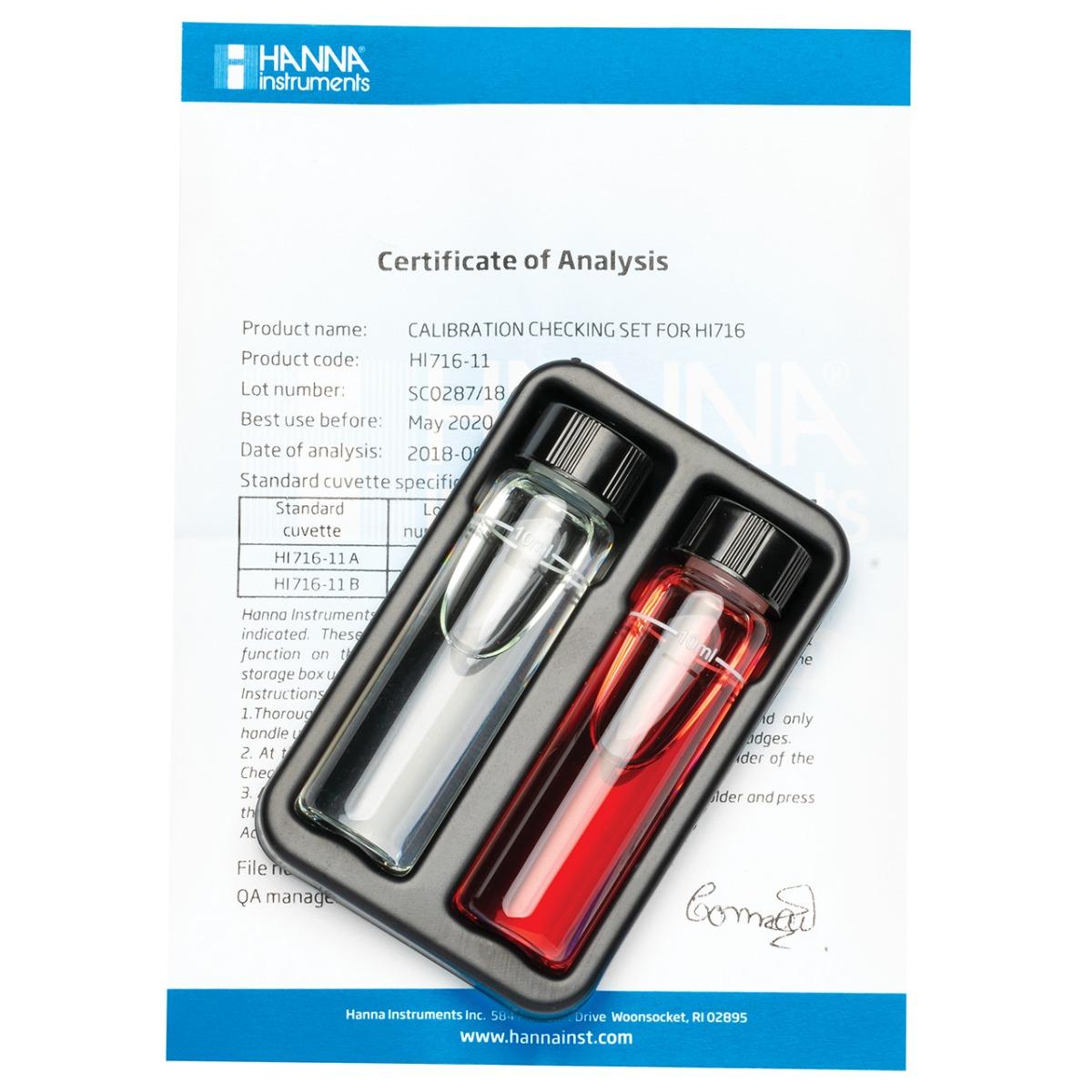 HI716-11 Bromine Checker®HC Calibration Set