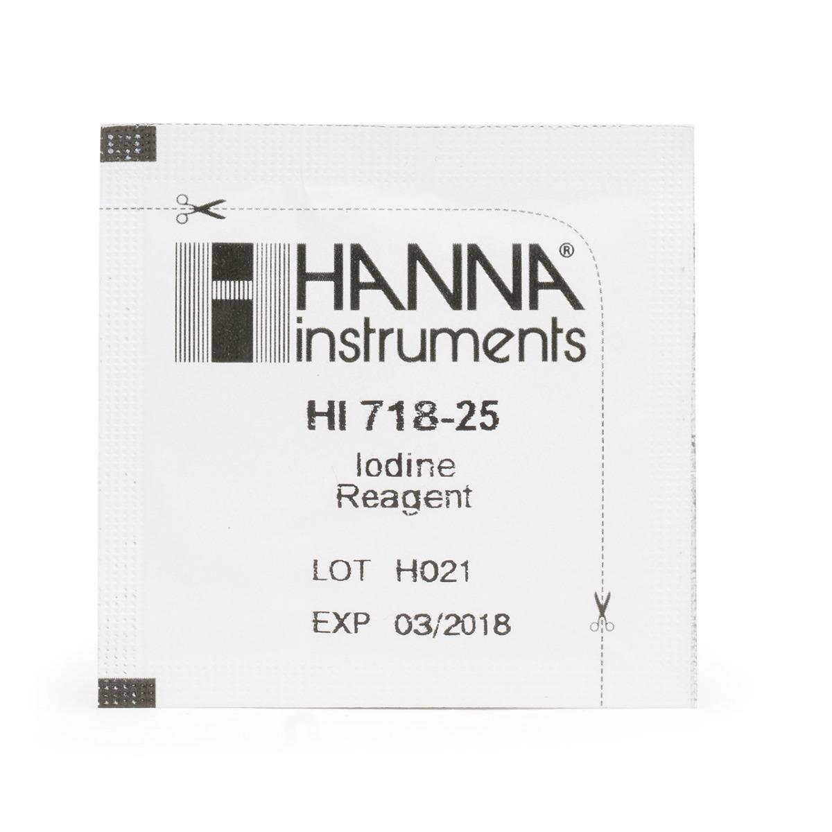 HI718-25 Iodine Checker® Reagents (25 tests)
