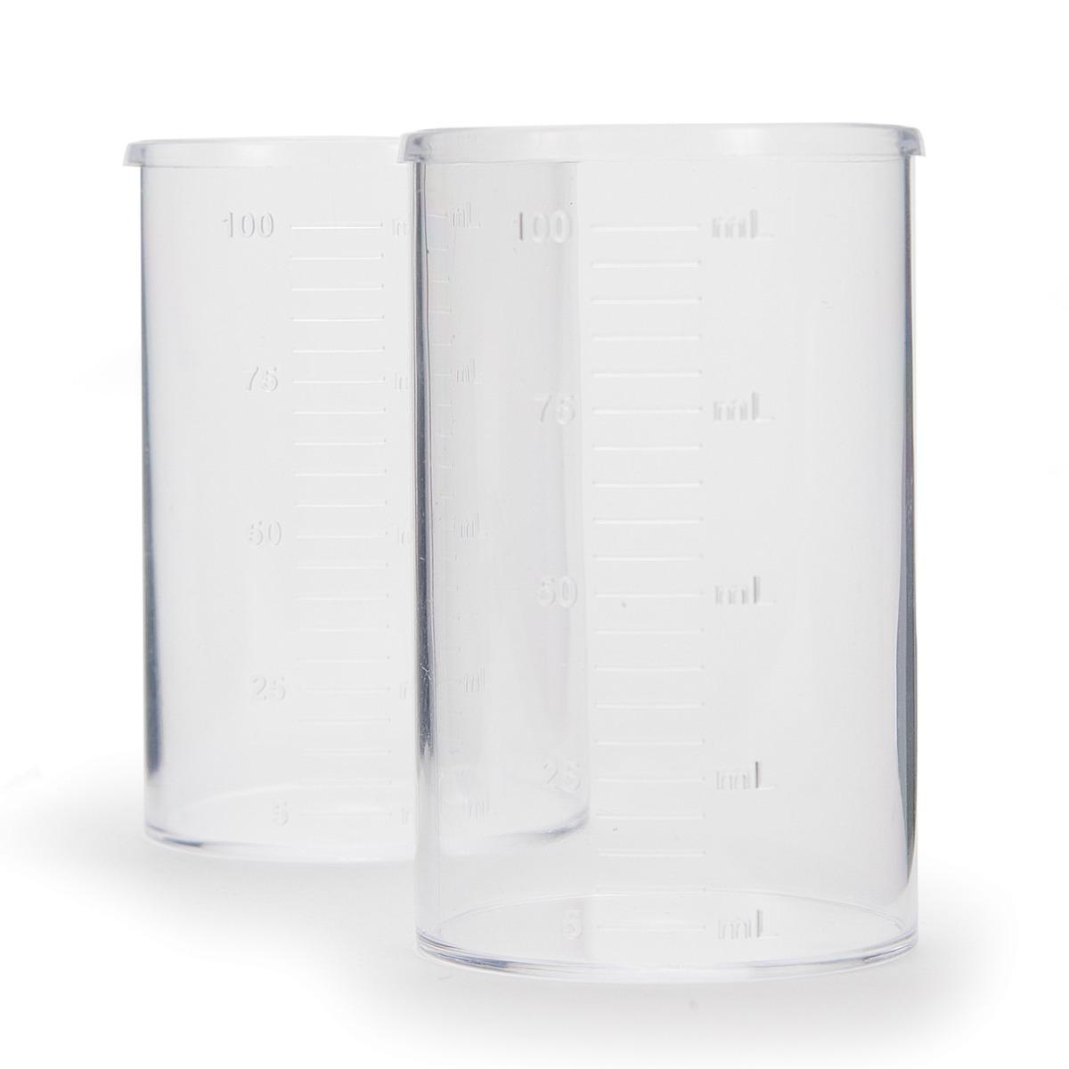 HI740036P Plastic Beaker Set, 100 mL