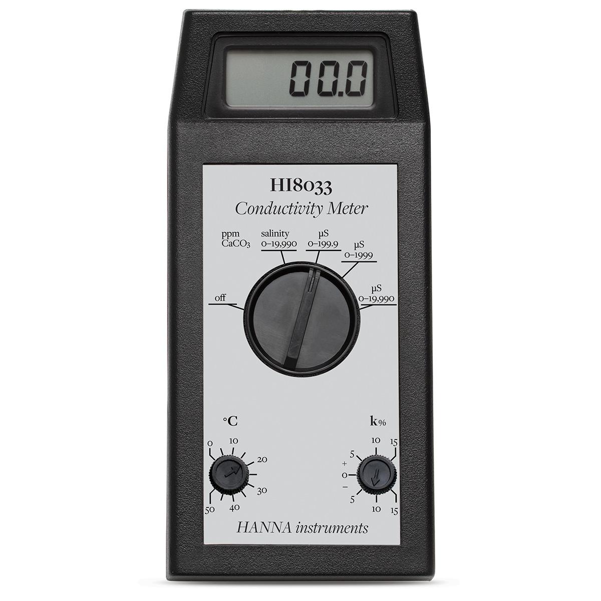 Conductometru portabil multidomeniu EC/TDS - HI8033