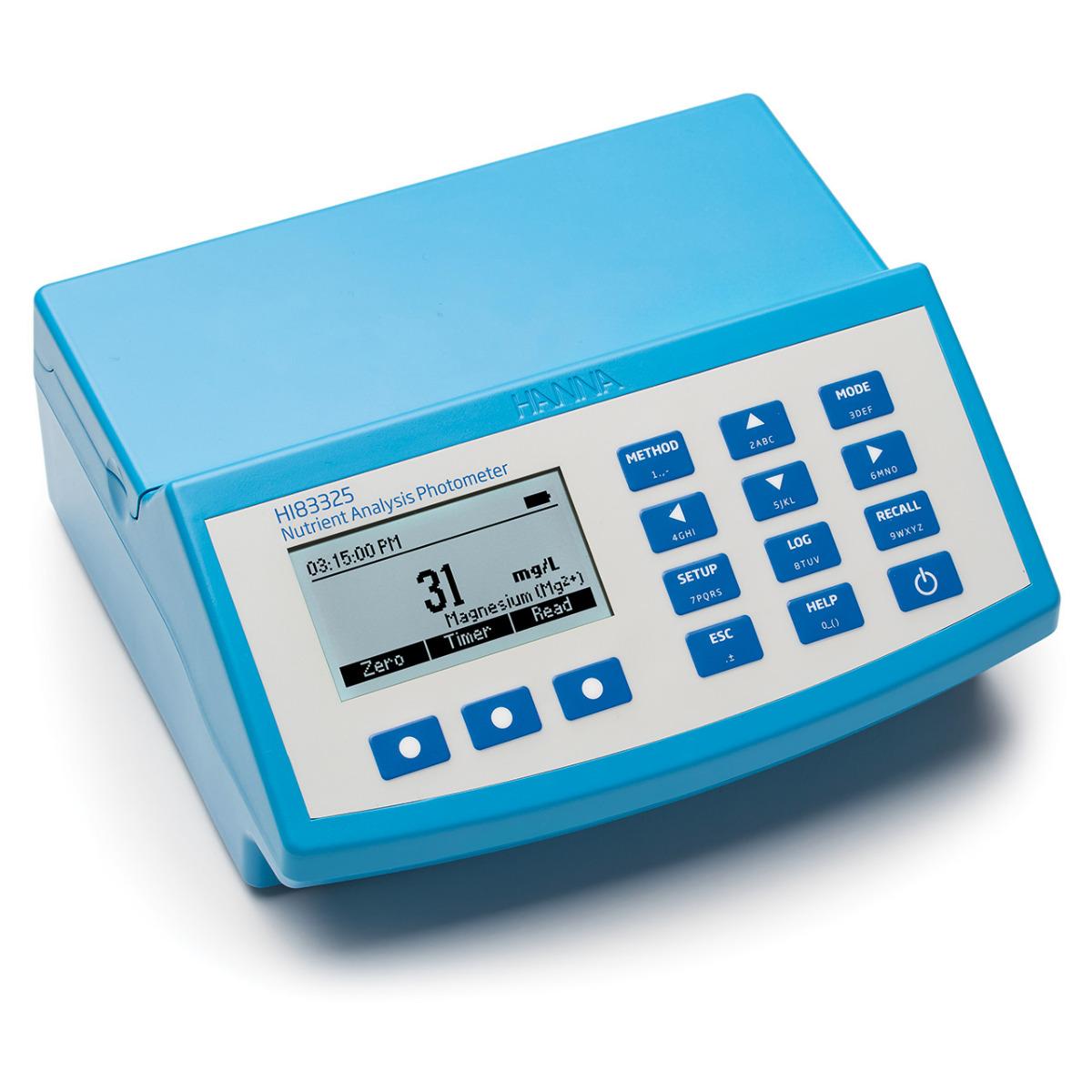 Nutrient Analysis Photometer - HI83325