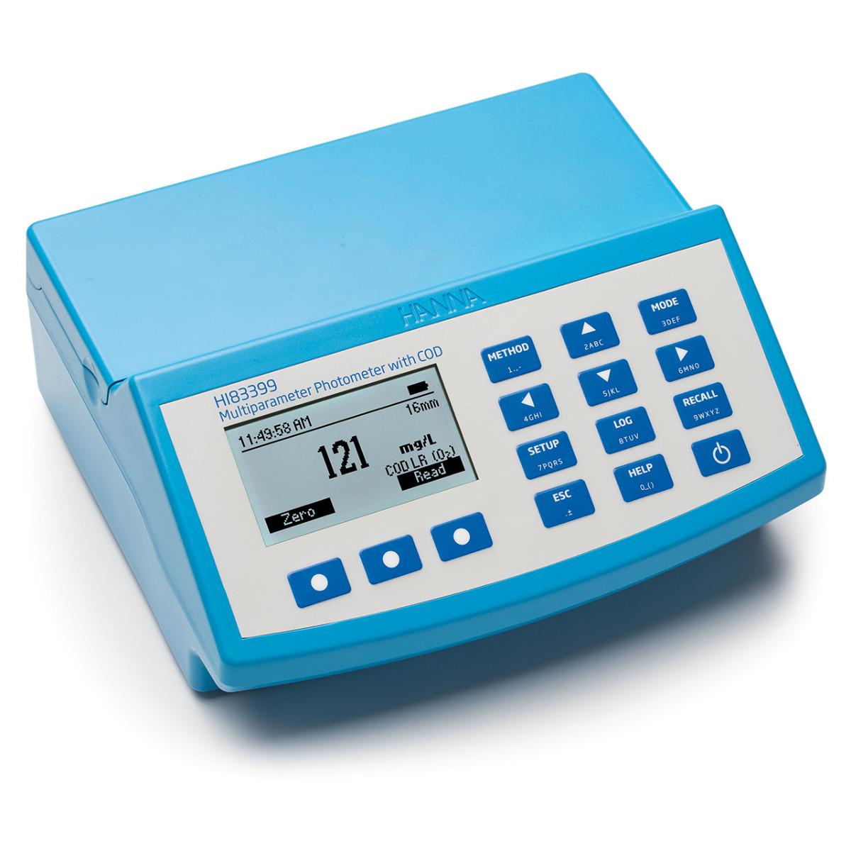 HI83399 Multiparameter COD Photometer and pH meter