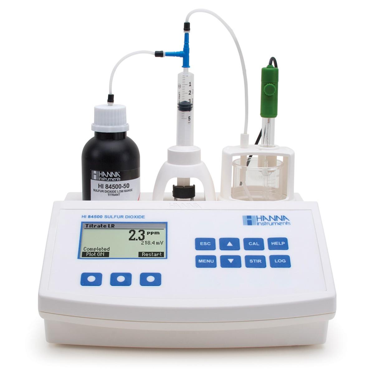 HI84500 Sulfur Dioxide Mini Titrator for Wine Analysis