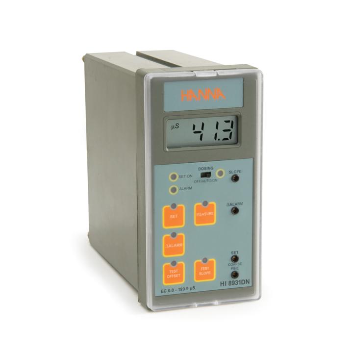 Controler analogic pentru EC cu intrare de la sondă sau transmițător - HI8931