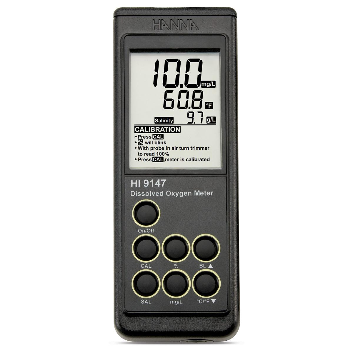 Oxigenometru portabil cu sondă galvanică - HI9147