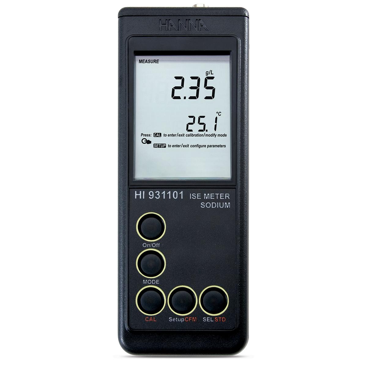 Ionometru pentru Sodiu (Na) - HI931101