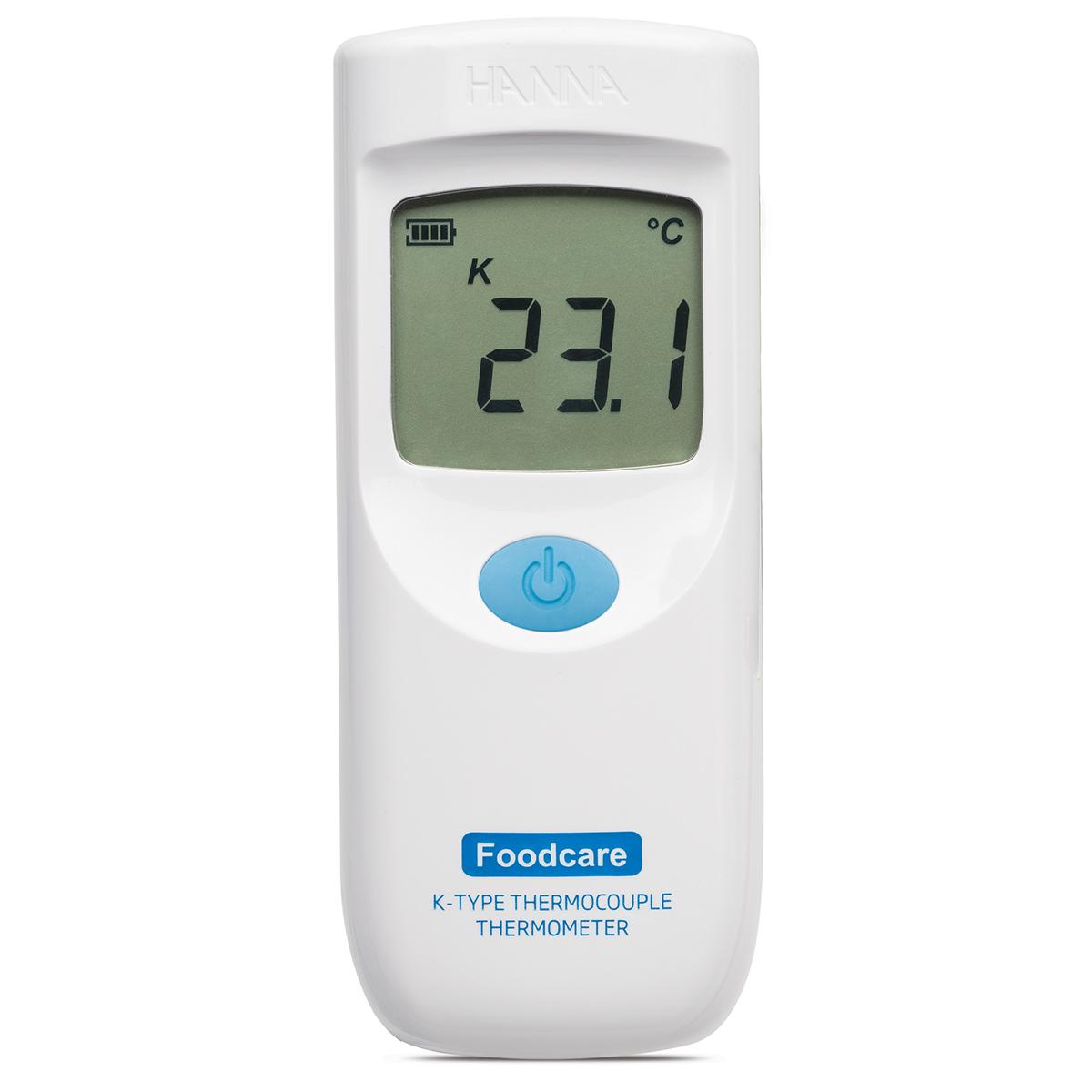 Termometru cu termocuplu de tip K și sondă etașabilă Foodcare - HI935001