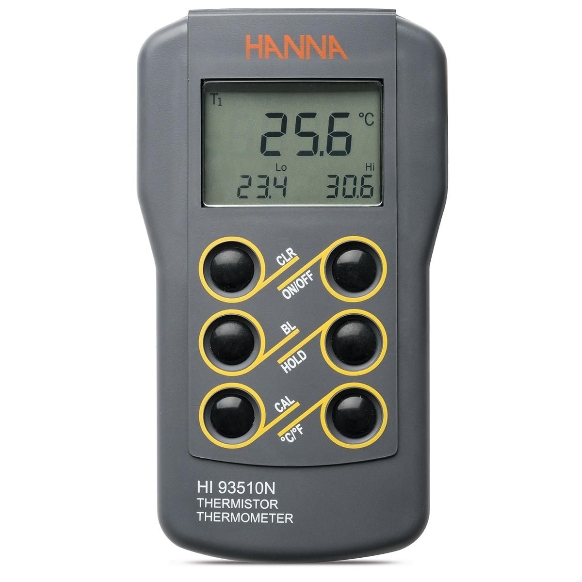 Termometru rezistent la apă cu opțiune de calibrare - HI93510N