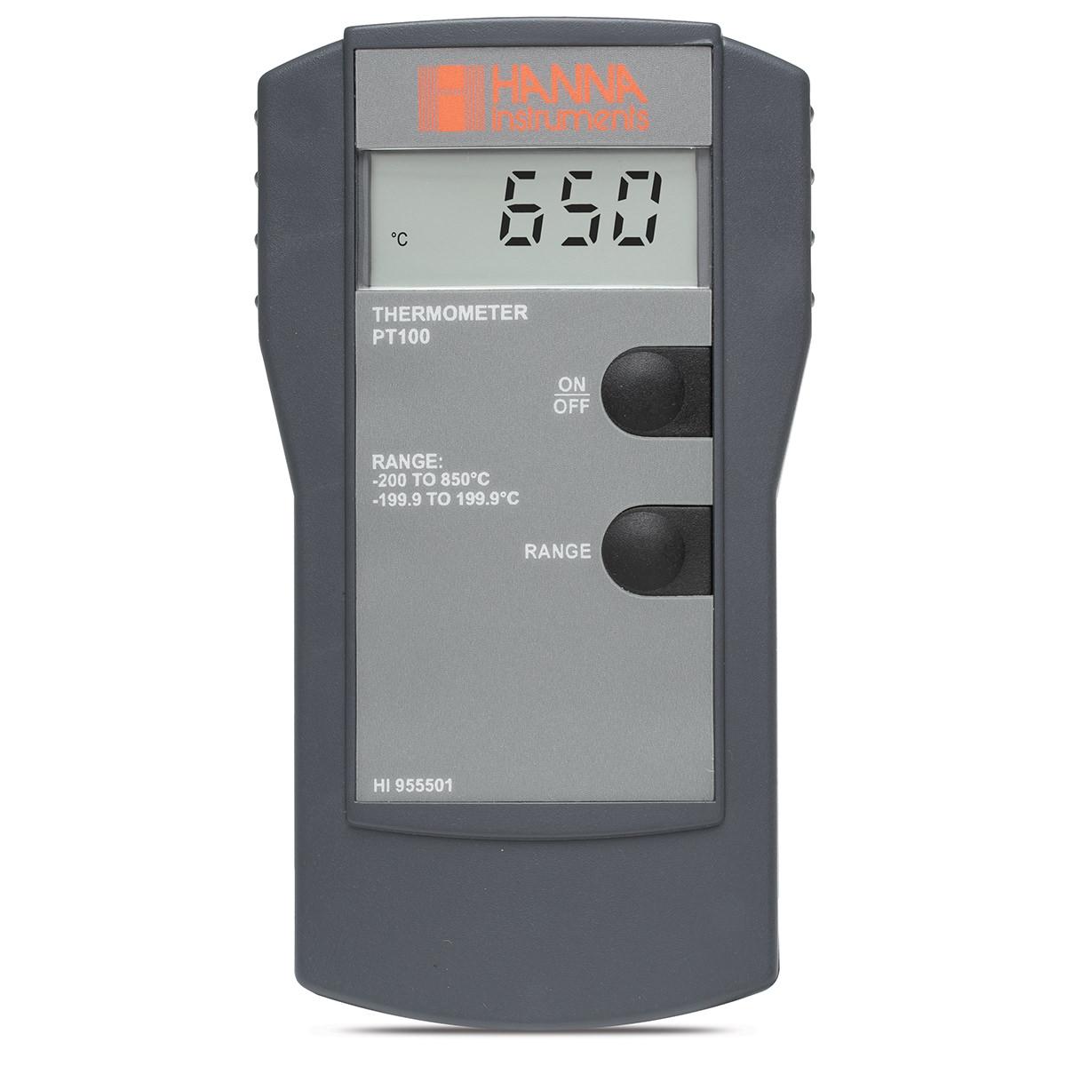 Termometru cu sondă Pt100 - HI955501