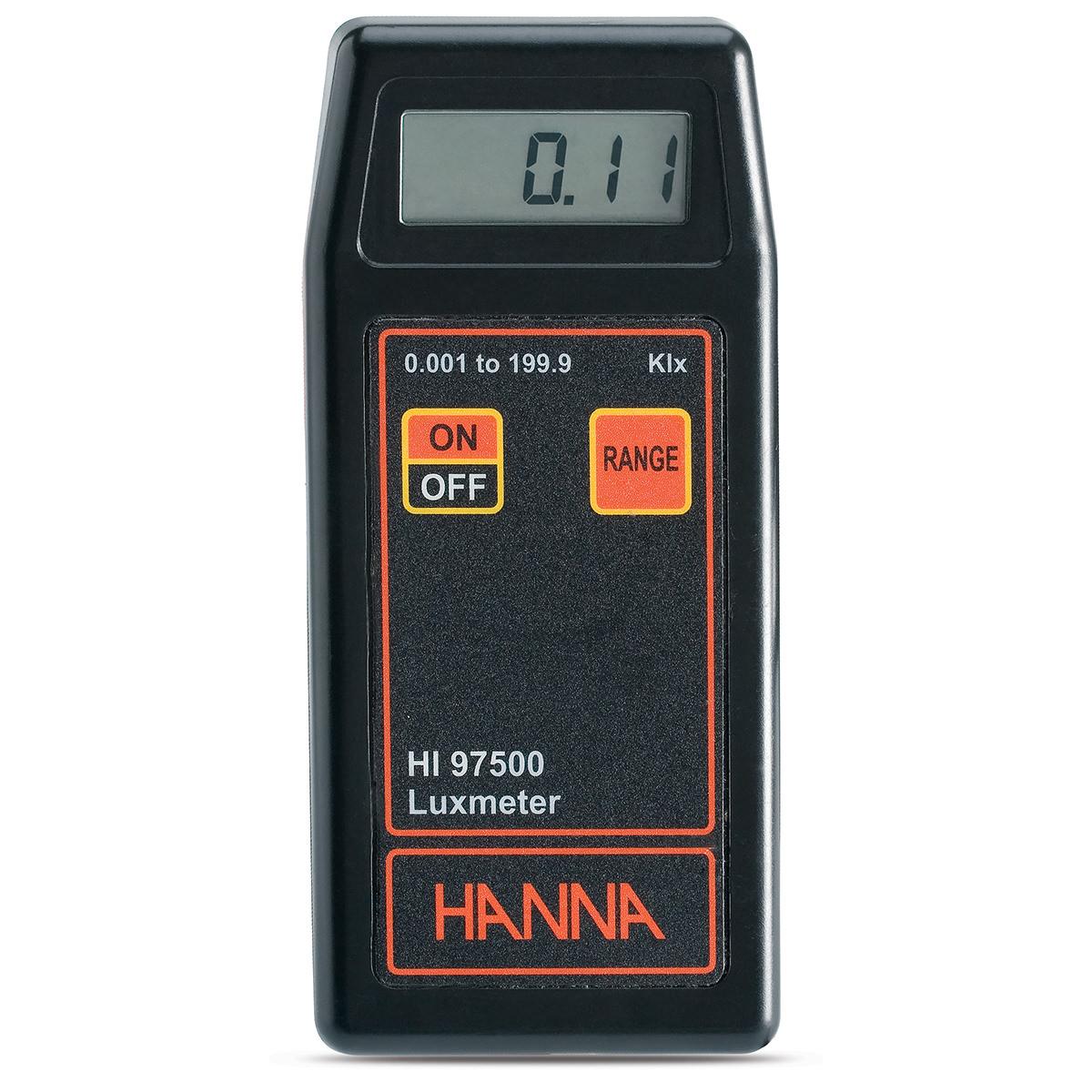 Luxmetru portabil - HI97500