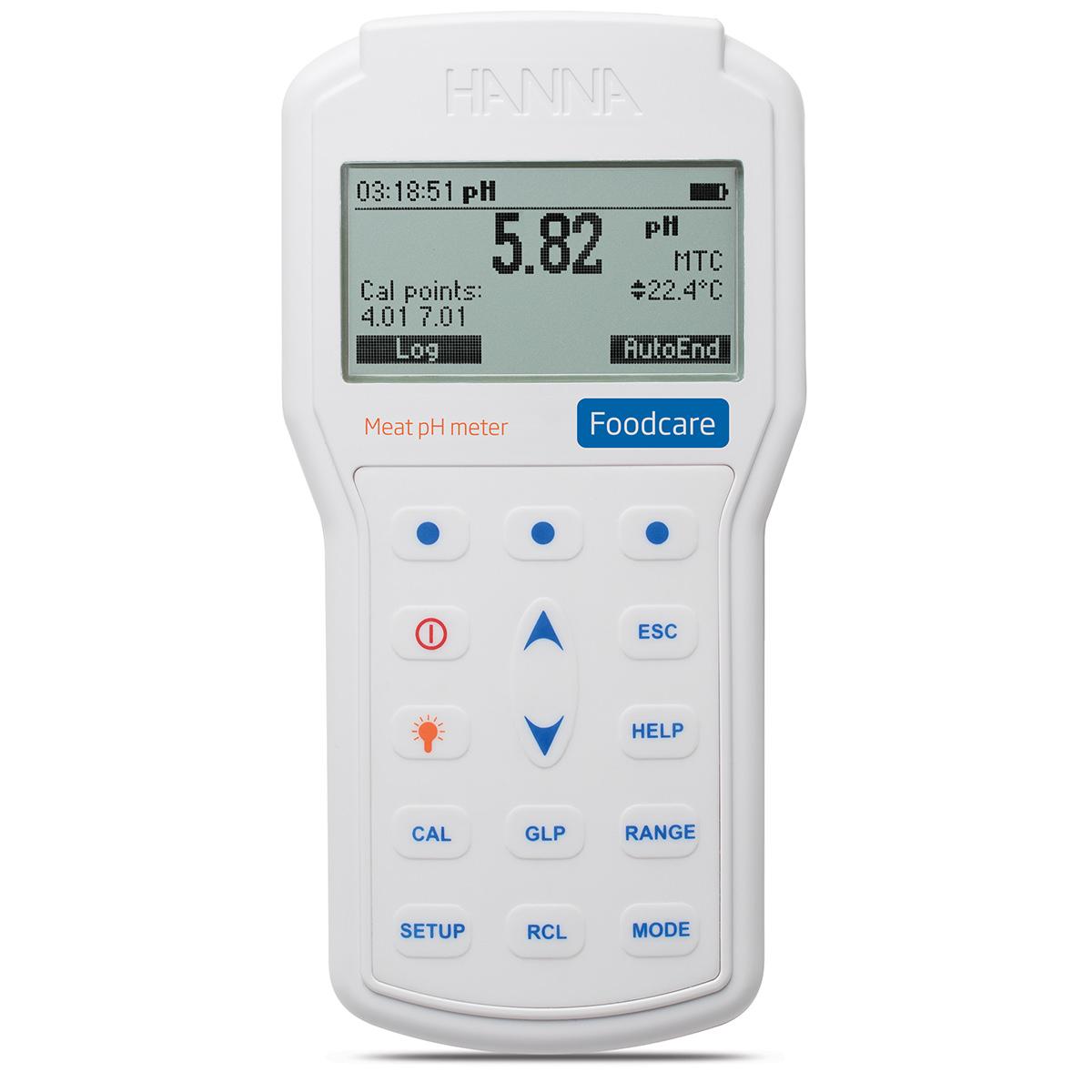 pH-metru portabil profesional pentru carne - HI98163