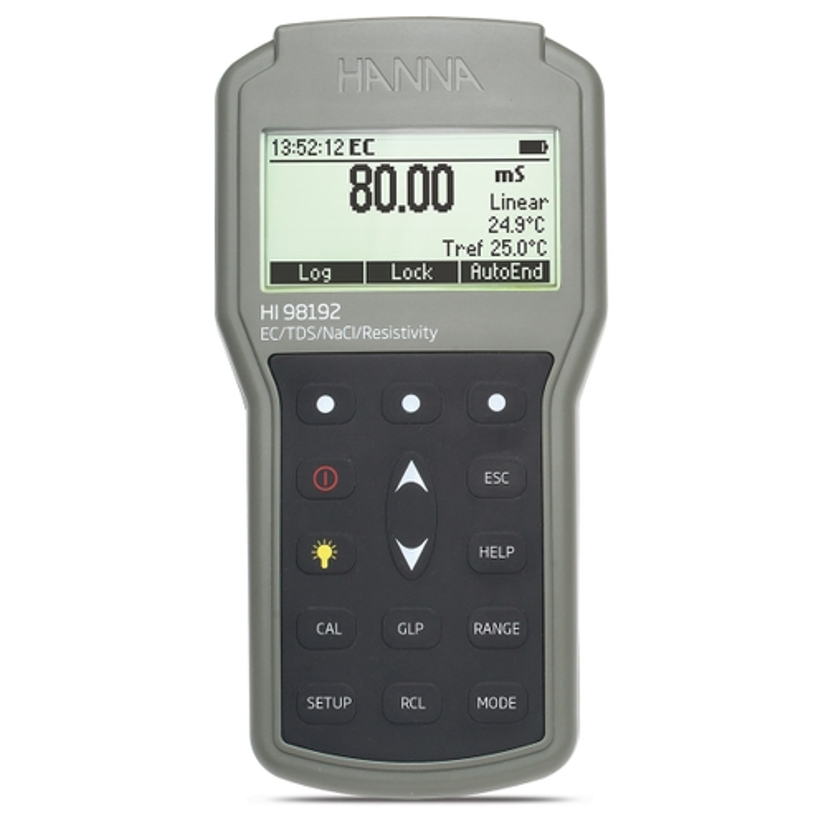 Conductometru portabil EC/TDS/Rezistivitate/Salinitate - HI98192