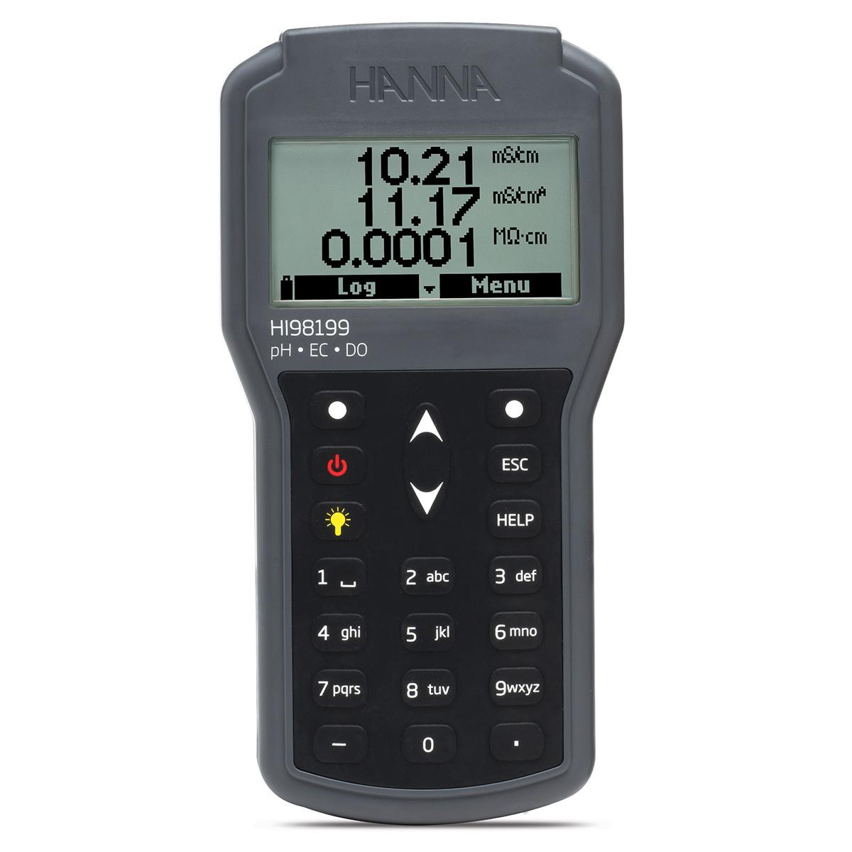 Multiparametru portabil pH/EC/OD - HI98199