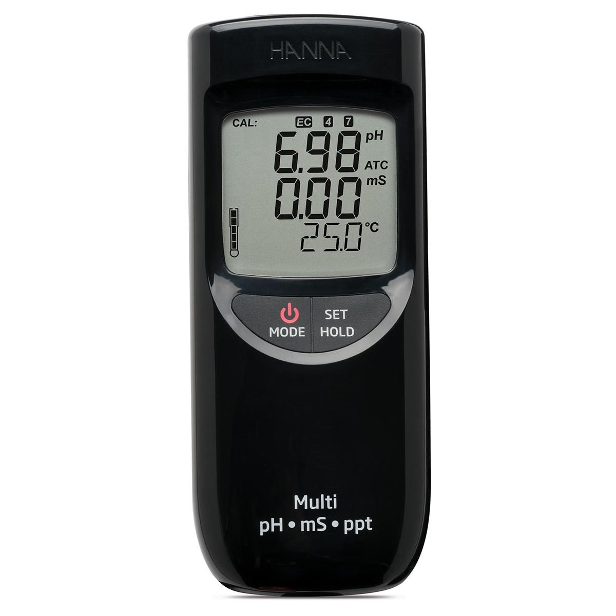 Multiparametru portabil pH/EC/TDS (domeniu mare) - HI991301