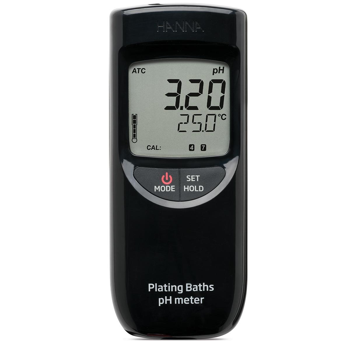 pH-metru portabil pentru galvanizare - HI99131