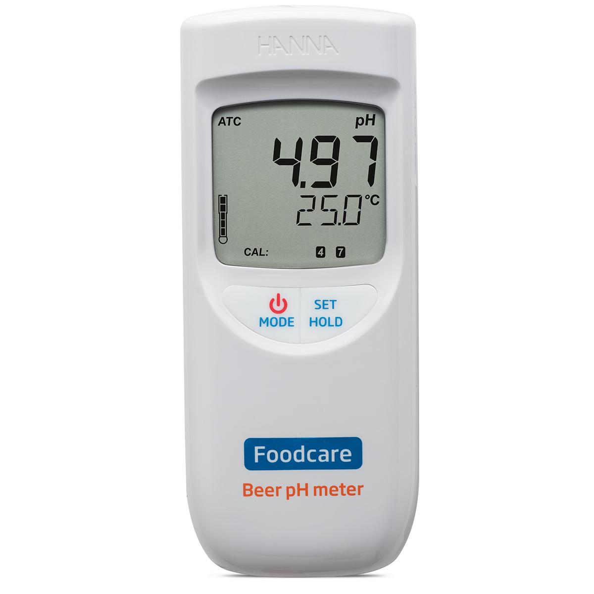 pH-metru portabil pentru analiza berii - HI99151