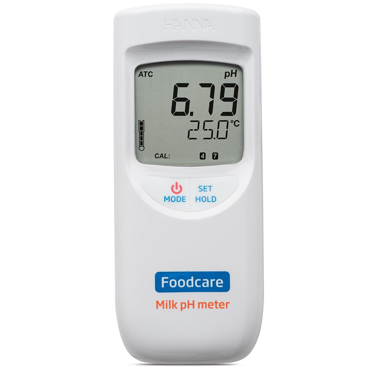 pH-metru portabil pentru lapte - HI99162