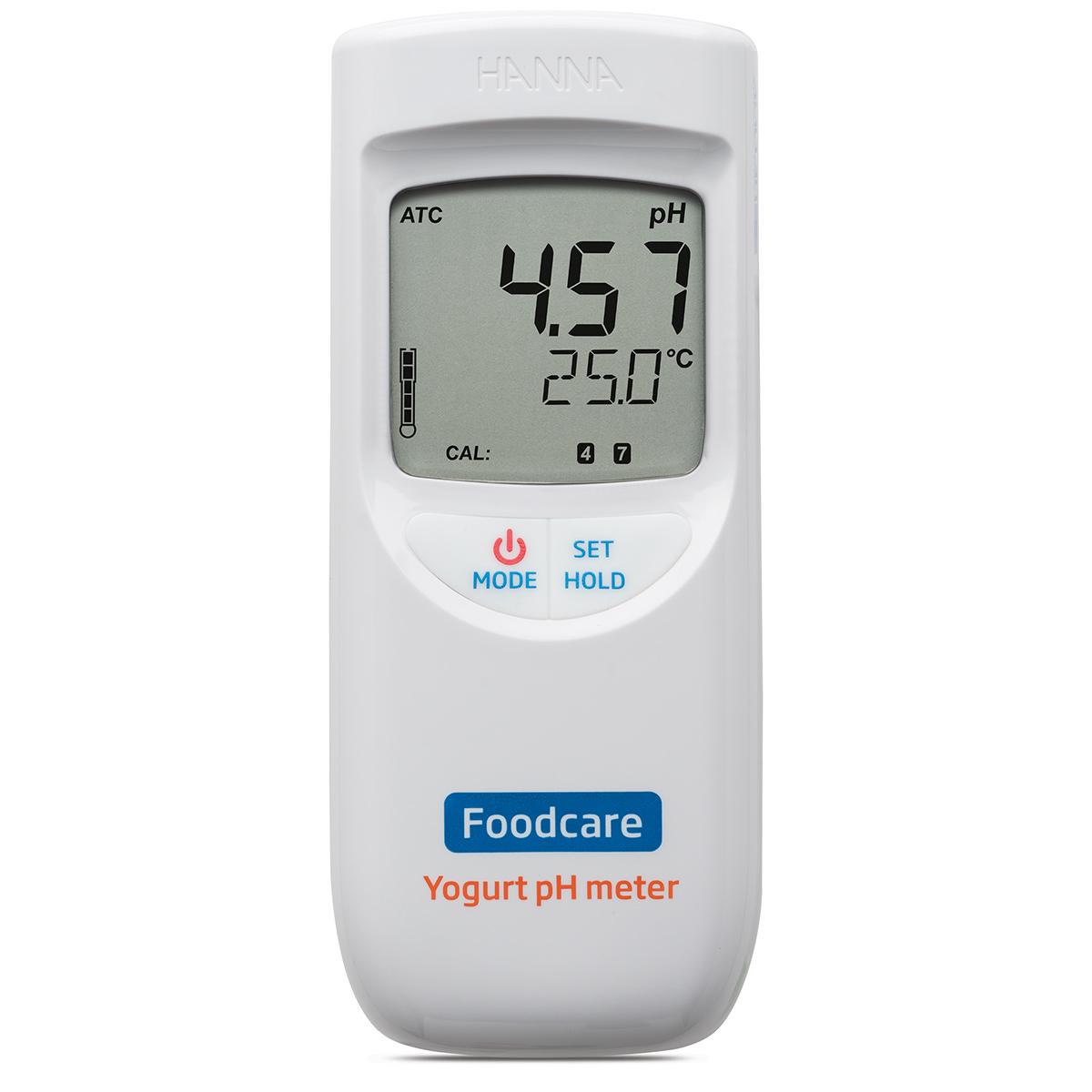 pH-metru portabil pentru iaurt - HI99164