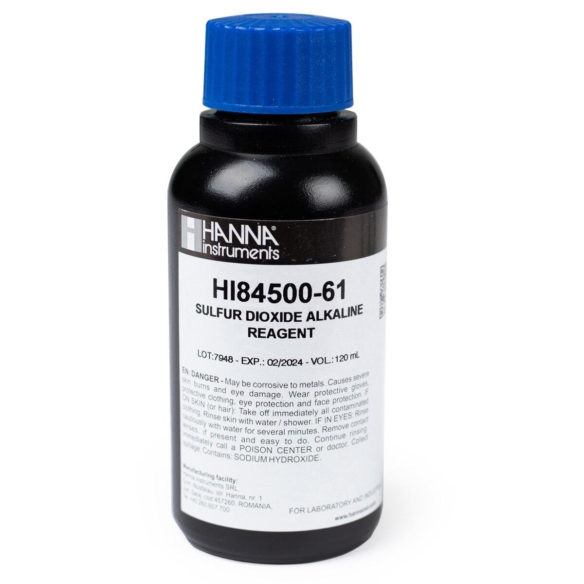 HI84500-51 Sulfur Dioxide in Wine High Range Titrant (230 mL)
