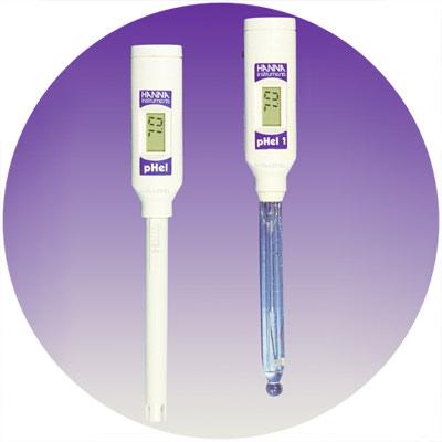 1997 - Primul tester de pH din lume cu electrod cu dublă joncțiune