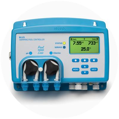 2017 - Primul controler de pH cu pompă de dozare din lume cu electrod inteligent