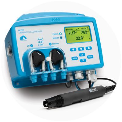 2020 - Primul controler de pH cu pompă de dozare din lume cu conectivitate în cloud și electrod inteligent