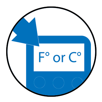 Selectable Temperature Units